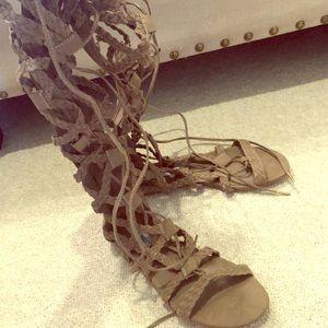 Steve Madden -Gladiator Shoe - size 6